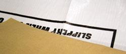 Lumber wrap staple strip — 8